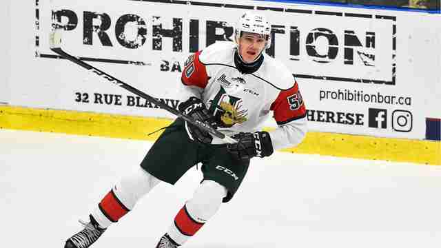 Oilers Select Raphael Lavoie 38th overall